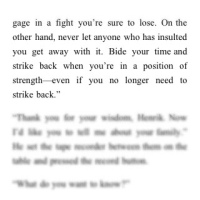 Stieg Larsson, you genius